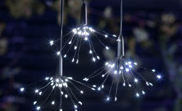 Argos Home 96 Multi-Function Starburst LED Lights - 2.6m