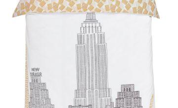 Argos Home New York Sketch Bedding Set