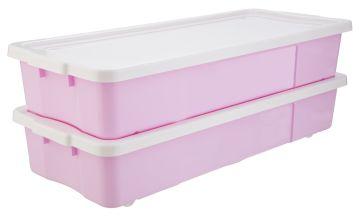 Argos Home Underbed Storage - Pink