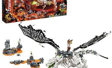 LEGO Ninjago Skull Sorcerer's Dragon Board Game Set - 71721