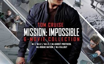 Mission: Impossible The 6 Movie Collection Blu-ray Box Set