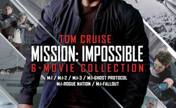 Mission: Impossible The 6 Movie Collection DVD Box Set
