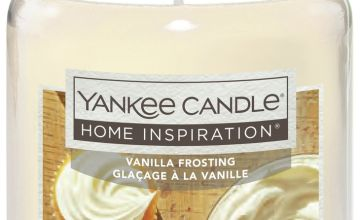 Home Inspiration Large Jar Candle - Vanilla Frosting