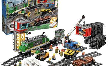 LEGO City Cargo Train RC Battery Powered Set - 60198