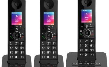 BT Premium Cordless Telephone & Answering Machine - Triple