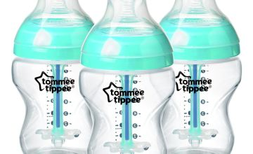 Tommee Tippee Anti-Colic Bottles - 260ml x3