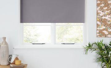 Argos Home Blackout Insulating Roller Blind - Slate Grey