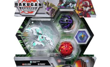 Bakugan Starter Pack Series 2- Trox, Sphinx & Nillious