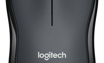 Logitech M220 Silent Wireless Mouse - Black