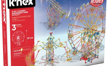 K'NEX 3 in 1 Amusement Park Building Set