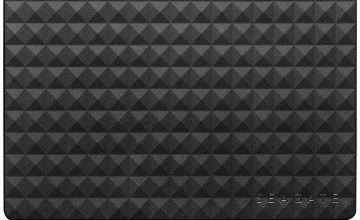 Seagate Expansion 4TB USB 3.0 Desktop Hard Drive - Black