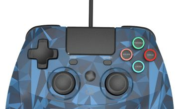 Snakebyte Game:Pad PS4 Wired Controller - Blue