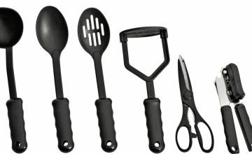 Argos Home 9 Piece Suregrip Kitchen Utensil Set