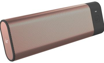 KitSound Boombar Portable Wireless Speaker - Rose Gold
