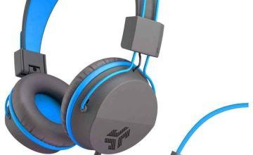 JLab JBuddies Kids Headphones - Grey/ Blue