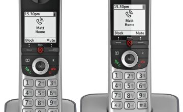 BT Advanced Z Cordless Telephone & Answering Machine - Twin