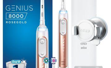Oral-B Genius 8000 Electric Toothbrush - Deep Clean