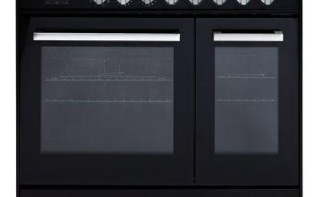 New World CORBETT90EBLK 90cm Electric Range Cooker - Black