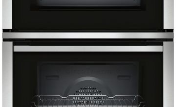 Neff U1ACE2HN0B Built In Double Electric Oven - S/Steel