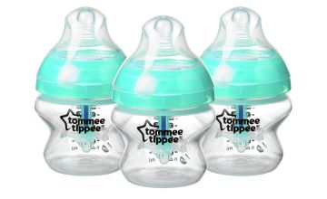 Tommee Tippee Advanced Anti-Colic Bottles - 150ml x3