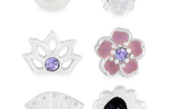 Disney Mulan Single Stud Earrings - Set of 6