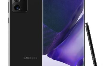 SIM Free Samsung Note20 Ultra 256GB 5G Mobile Phone - Black