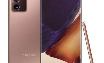 SIM Free Samsung Note20 Ultra 512GB 5G Mobile Phone -Bronze