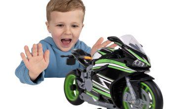 Chad Valley Lights & Sounds Wheelie Motorbike