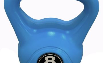 Opti Vinyl Kettlebells 8kg - Blue