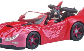 Wreck It Ralph II Vehicle with Figure