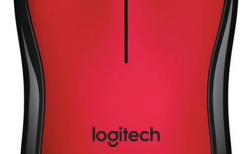 Logitech M220 Silent Wireless Mouse - Red