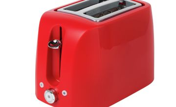 Cookworks 2 Slice Toaster - Red