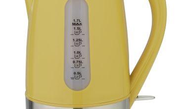 Cookworks Illuminated Kettle - Yellow