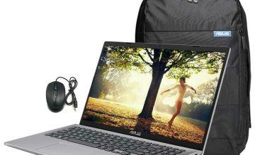 ASUS X509 15.6in Celeron 8GB 1TB Laptop Bundle