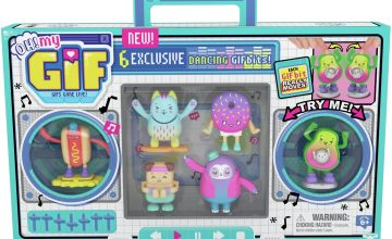 Oh My Gif Series 1 Dance 6 Pack Figures
