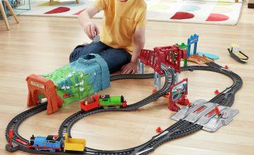 Thomas & Friends Talking Thomas & Percy Train Playset