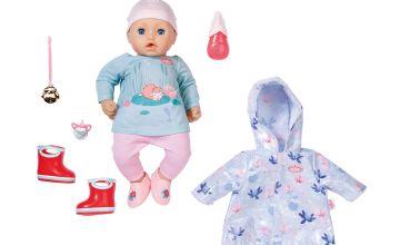Baby Annabell Annabell + Rain Outfit 43cm