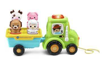 VTech Shapes & Animals Tractor Playset