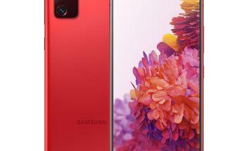 SIM Free Samsung S20 FE Mobile Phone - Red