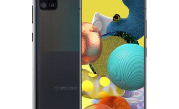 SIM Free Samsung A51 5G 128GB Mobile Phone - Black