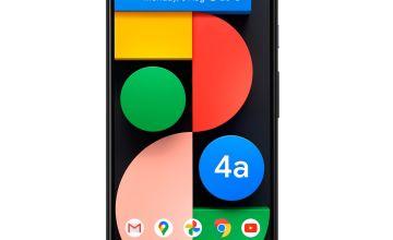SIM Free Google Pixel 4a 5G 128GB Mobile Phone – Just Black