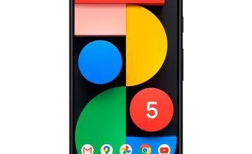 SIM Free Google Pixel 5 128GB 5G Mobile Phone - Just Black