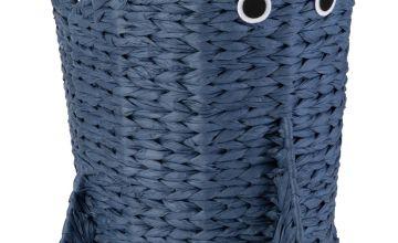 Argos Home Shark Seagrass Laundry Basket