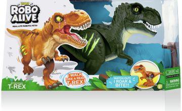 Robo Alive Attacking T-Rex Series 1 Dino