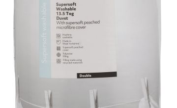 Argos Home Supersoft 13.5 Tog Duvet