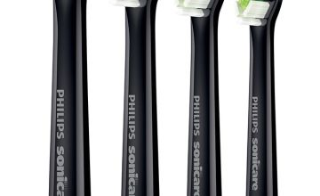 Philips Sonicare Optimal Black Electric Toothbrush Heads - 4