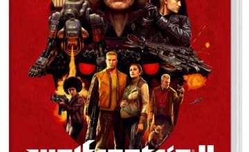 Wolfenstein 2 The New Colossus Nintendo Switch Game