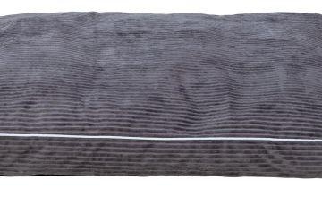 Grey Cord Pet Mattress - Large