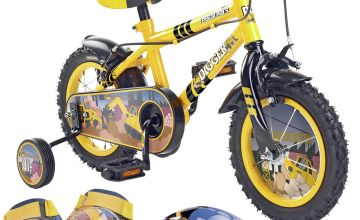Pedal Pals 12 Inch Digger Kids Bike and Accessories Set