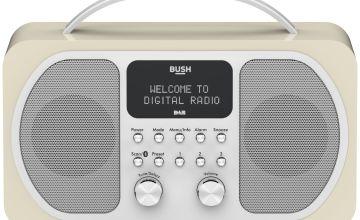 Bush Bluetooth DAB Radio - Cream